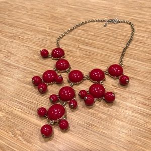 Red Bauble Necklace